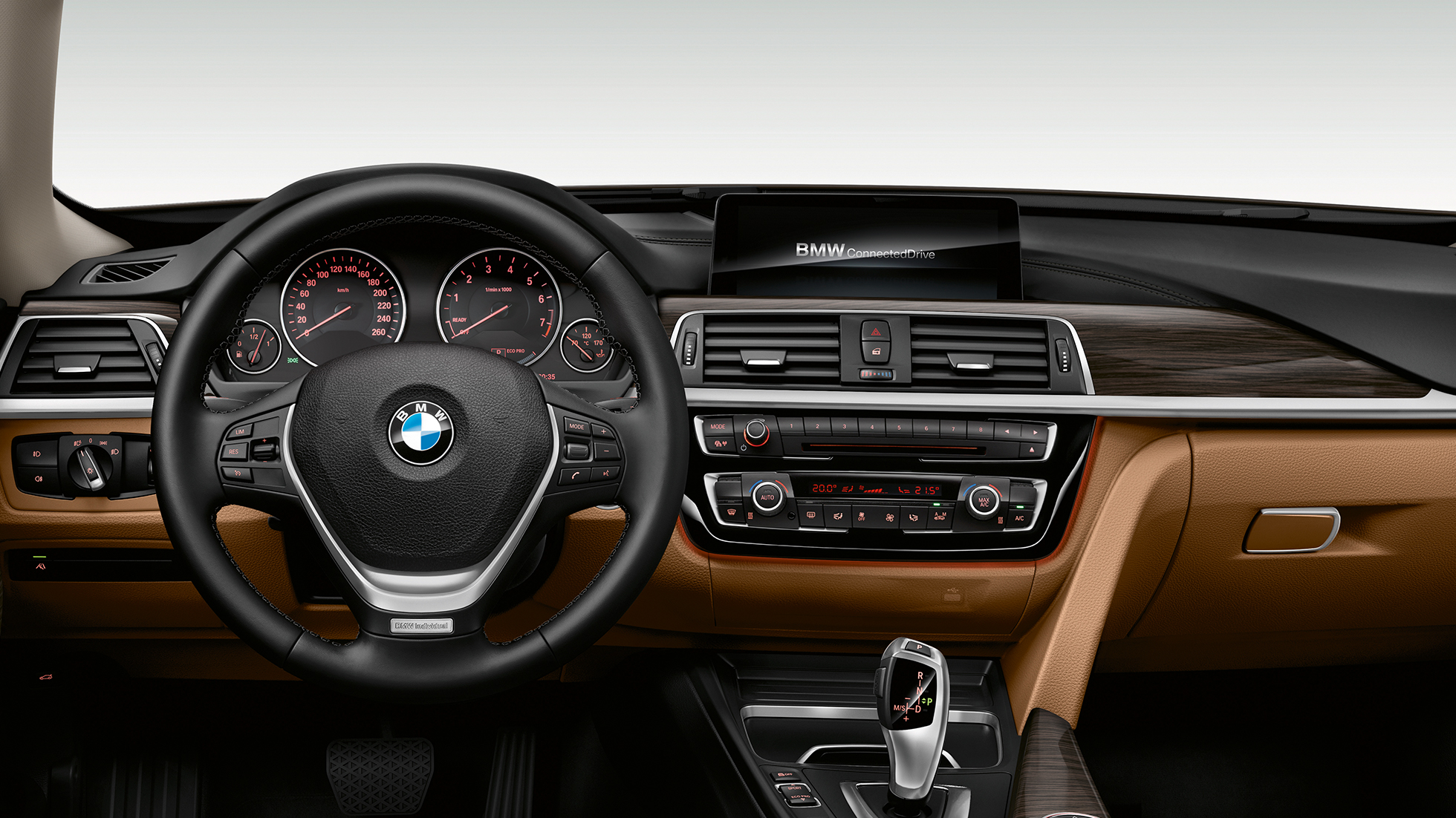 Habitaclul BMW Seria 3 Gran Turismo, Model Luxury Line