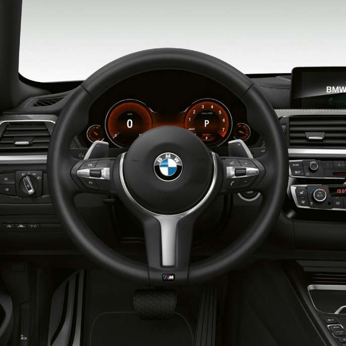 BMW 4 Series Gran Coupé, Model M Sport cockpit